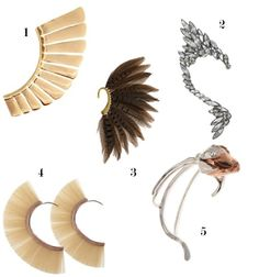 SS12 Jewellery Hot List: Ear Cuffs/ Jewellery Trends/ Adorn London Jewellery Trends Blog