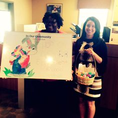 Our Ashely Ave branch in Charleston, SC decorated for Financial Literacy Month.