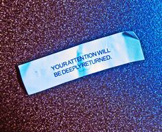 fortune cookie - Google Search