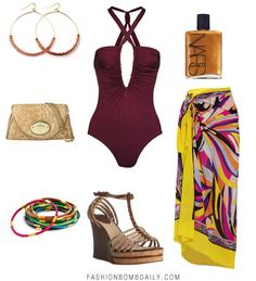 Style Inspiration: What to Wear to a Luau Cancun Outfits, Pool Party Outfits, Beach Vacation Outfits, Cruise Outfits, Summer Outfits, Vacation Style, Party Fashion, Fashion Outfits, Outfit Strand