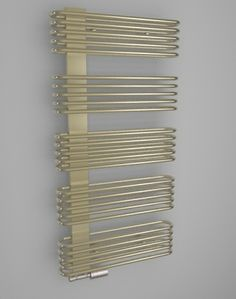 Asymetry, round tubes, clear lines, high heating output, and colourfulness. The HOTHOT radiator Ivory Side offers all this. It will stand out not only in the bathroom, entrance hall, or stairs, but can also liven up a kitchen or study room.
