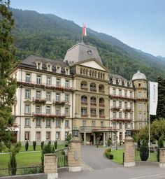 """Hotel Beau-Rivage in Interlaken, Switzerland. Loved staying here. When we would go down to dinner every night, the pianist would play """"To All the Girls I've Known"""" when we entered the room. Loved it!"""