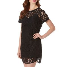 LAST CHANCE❗️Michael Kors Black Lace Tunic Dress So gorgeous and perfect under a leather jacket. Awesome for any season! Brand new with tags. True to size. Camisole slip included underneath. No trades!! 01116310dr MICHAEL Michael Kors Dresses Mini