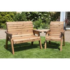 Three Seater Companion Set - HB03 - Natural Collection Select