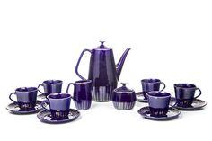 DESA Living - Obiekty z okresu PRL i kolekcja designu Beaty Bochińskiej Coffee Set, Coffee Cups, Kitchen Tools, Tea Set, Objects, Art Deco, Ceramics, Teak, Poland