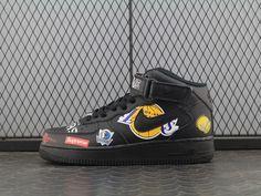 premium selection 17f18 0ac44 Supreme x NBA x Nike Air Force 1 AQ8017-001