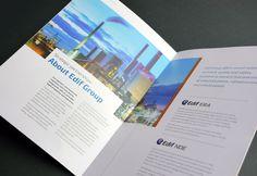 Company printed brochure