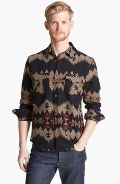 Pendleton Portland Collection 'Government Camp' Wool Flannel Shirt