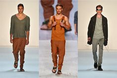 Marc Stone - Spring/Summer 2014 #Waldraud Summer 2014, Spring Summer, Parachute Pants, Menswear, Stone, Fashion, Moda, Rock, Fashion Styles