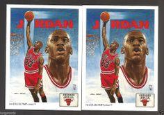 1990-91 UPPER DECK COLLECTOR'S CHOICE ART MICHAEL JORDAN CARD #75 #ChicagoBulls