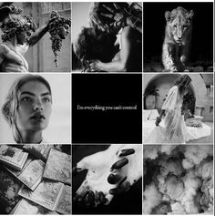 NESTA ARCHERON •••I am not like the others.