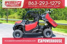 New 2016 Honda Pioneer 1000 EPS 3 Passenger ATVs For Sale in Florida. 2016 HONDA Pioneer 1000 EPS 3 Passenger, McKibben Powersport Honda is a family owned and operated Level Five Honda Powerhouse that is all Honda, all the time! We are the largest Level Five Honda Powerhouse in the southeastern United States and we stock the largest Honda inventory in the state of Florida. Don't believe it?! Just check us out online at . We gratefully offer 30,000 sq. ft. of Hondas including: Motorcycles (On…