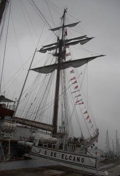 Visita de Elcano a Santander (julio de 2013)