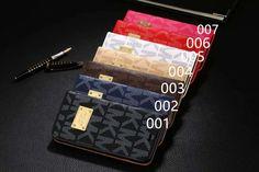 マイケルコースアイフォン7/7plus手帳型ケースiphone6s/6splus革ケース男女兼用カード入れ