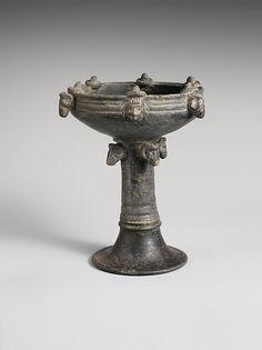 Terracotta chalice Date: ca. 575–550 B.C. Culture: Etruscan Medium: Terracotta