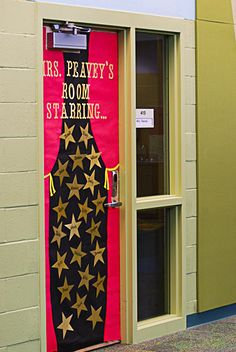 door decor 3 & Star themed classroom door! | classroom ideas | Pinterest ...