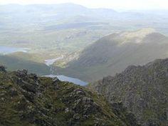 Coomloughra Glen, West Ridge Skregmore top right Mountains, Water, Top, Travel, Outdoor, Gripe Water, Outdoors, Viajes, Trips