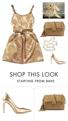 """""""Unknown"""" by gb041112 ❤ liked on Polyvore featuring Chanel, Valentino and Cathy Waterman"""