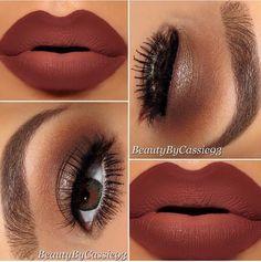 Gold Eye w/ Ombré Lip