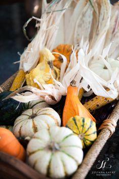 Orange and white fall wedding | Pumpkin and gourd wedding details | Vintage Wedding venue, Bucks County in New Hope PA | The Inn at Barley Sheaf Farm