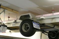 Panofish » Garage Trailer Lift  Hoist cost about $140 from Princess Auto
