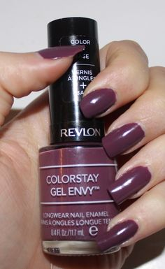 Revlon ColorStay Gel Envy in Hold 'Em  I need this!