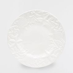 ROUND EARTHENWARE STARS SERVING PLATE