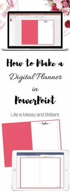 how to digital planner digital bullet journal how to PowerPoint digital planner goodnotes digital planner ipad Planner Template, Printable Planner, Planner Stickers, Printables, Bullet Journal Layout, Bullet Journal Inspiration, Bullet Journals, Planner Layout, Planner Diy
