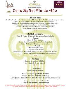 ¿Aún no tienes claro donde vas a cenar la última noche del año?   Cena Buffet en el Hotel Metropolis de Andorra, en pleno centro de Escaldes y a tan sólo 150 metros de Caldea!!...reserva lo antes posible tu mesa al teléfono 00376-808.363 ó por mail a: info@hotel-metropolis.com