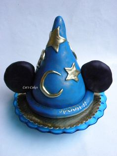 Harry's Mickey's Sorcerers Hat on Cat's Cakes