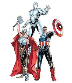 Novíssimos Vingadores é a nova revista da Panini em 2016 ~ Universo Marvel 616