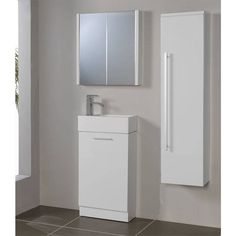Victoria Plumb - Compact Unit White & Basin