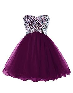 #Homecoming Dress# Rhinestones all over the top! Stunning!