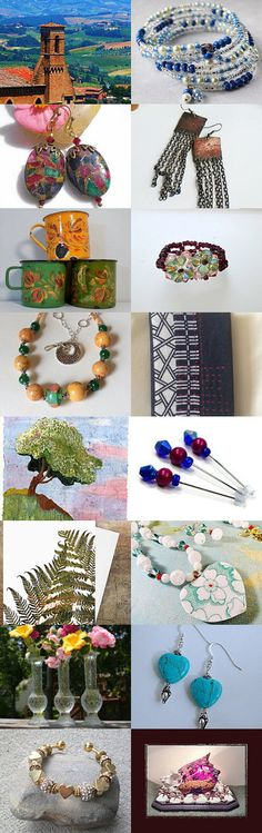 Finishing April by NANCY ANDERSON on Etsy--Pinned+with+TreasuryPin.com