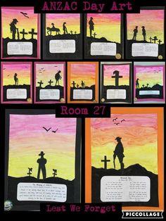 Anzac art Anzac Day, Lest We Forget, Teacher, Baseball Cards, Art, Art Background, Professor, Teachers, Kunst