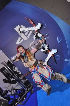 #HorizonZeroDawn #cosplay #Aloy during Warsaw Games Week   #playstation #games