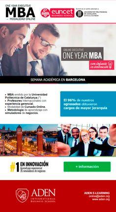#Novoclick está con @ADENBS y su ONE YEAR EXECUTIVE #MBA