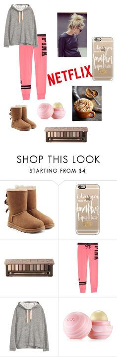 """""""Basics.."""" by planeta-janeta56903 on Polyvore featuring UGG Australia, Casetify, Urban Decay, H&M, Eos, women's clothing, women, female, woman and misses"""