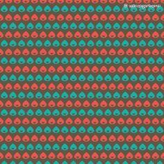 "fabric pattern ""raindrops"" © schraegerfuerst | www.stoffn.de"