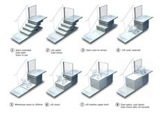Retractable Stairs Open to Reveal Urban Wheelchair Lifts | Urbanist
