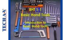 Course Outcome 6 Modules The complete course consists of 6 video modules and 2 PDF manuals which include self-assessment Module 1 – Introduction to Basic Han. Basic Hand Tools, Tech, Technology