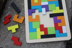 Encourage playful learning with your little ones. This kids learning wood logic puzzle is the perfect addition to your toy box.