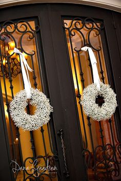 wreaths front doors  repined by www.designpass.co