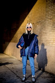 Street Style: New York Fashion Week Fall 2017 - theFashionSpot