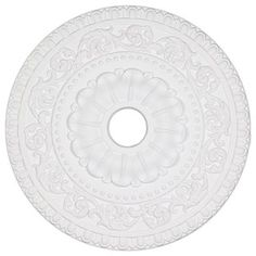 23.6-inch Beaded Egg/ Dart Ceiling Medallion - Overstock™ Shopping - Big Discounts on Molding