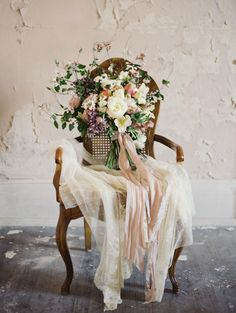 Evocative Abandoned Mansion — Wild Green Yonder | Wedding and Event Flowers in Ashburn, Virginia