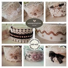Shabby Style cuff bracelets