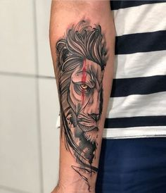 Lion Tattoo Meaning – Lion Tattoo Ideas for Men and Women with Photos - - A lion tattoo symbolizes nobility, bravery, pride and regal majesty. In various traditions and cultures, lions were always connected with gods.
