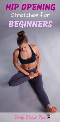 Just getting started with yoga? shares 6 Hip Opening Stretches f… Just getting started with yoga? shares 6 Hip Opening Stretches f…,Mobility exercises Just getting started with yoga? Quick Weight Loss Tips, Yoga For Weight Loss, How To Lose Weight Fast, Losing Weight, Reduce Weight, Lose Fat, Hip Opening Stretches, Hip Opening Yoga, Hip Stretches