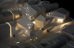centro cultural arquitectura maqueta - Buscar con Google